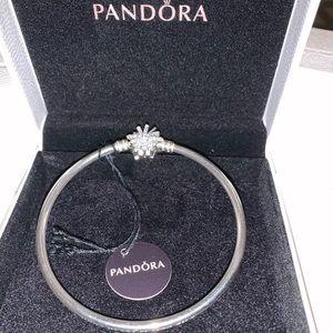 Pandora limited Edition fireworks bangle size 2